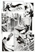 Batman Inks for 'Terror Times Three' by CPuglise9