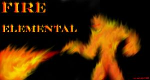 Fire Elemental by MikeErty