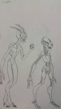 (Invader Zim) An Irken and a S.I.R. by SCP-811Hatena