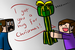 Minecraft Christmas by BananaFlavoredShroom
