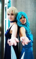 Ax 2012: Princess Uranus and Neptune by Pereprin