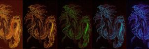 fire versions by OpheliaArts