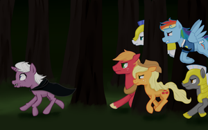 PC The Chase by SaturnStar14