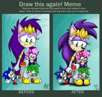 .:MEME:. Before and After by SonicFF