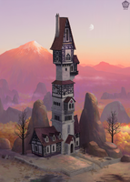 Nelianne's tower by Ionixis