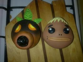 Majora's Mask: Mask Cupcakes [WIP] by cakecrumbs