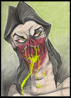 L4D2: Spitter by Cageyshick05