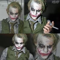 Custom Hottoys Heath Ledger Joker by Anzwer