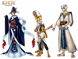 SUNCRY: Kings sheet by Noiry