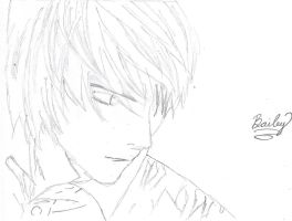 Light Yagami (wip) by Zinniss