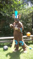 Transformice Cosplay 2015 [The Big Shaman!] by Xengui