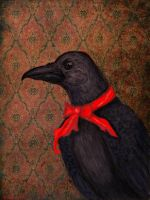Edgar Allan Crow by persephona90