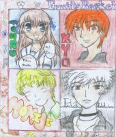 Fruits Basket Characters Pt.1 by fatchy131