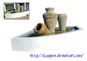 Pot Fountain png by Elsapret