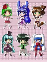 Chibi Adopt Group~ [Closed] by Emi801