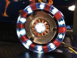 Arc Reactor craft by vray333
