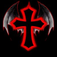 Jaki Logo Vampire Cross by Jaki-0