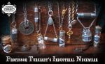 Prof. T's Industrial Neckwear by tursiart