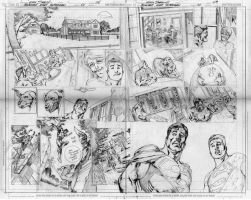 BN SUPERMAN PAGES 08 AND 09 by eddybarrows