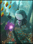The Journey Continues Underwater by Patriartis