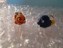 Dory and Nemo by Leemeeri