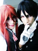 Sebastian M. and Grell S. by JhonkunAGM