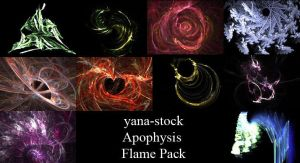 Apophysis Flame Pack by yana-stock