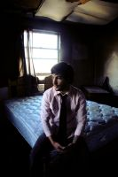 Daydreaming on abandoned beds by jeffreyverity