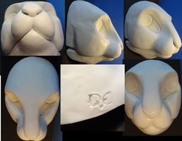 Bunny Mask by DreamVisionCreations