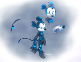 prince alien Mickey by twisted-wind