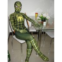 Lycra Spandex Green Spiderman by cosplayonsale