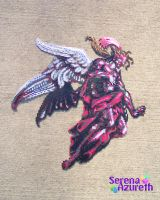 Final Kefka Form Bead Sprite by SerenaAzureth