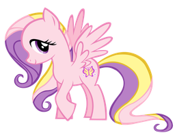 Fluttershy G3 vector by Durpy