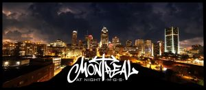 Montreal at Night: The Serie by Pathethic