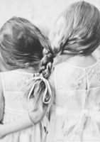 Sisters by katelynrphotography