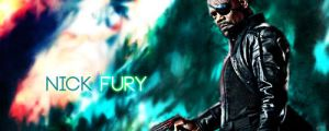 Nick Fury signature by ksop