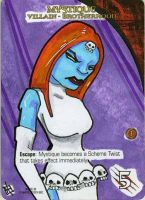 Marvel Legendary 3D - Mystique by 10th-letter