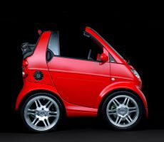 Mini Smart Fortwo Brabus by TrabzonSport