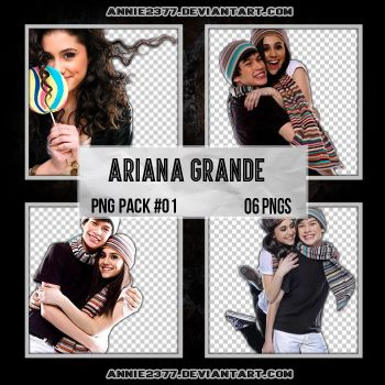 Ariana Grande PNG Pack #01 by annie2377
