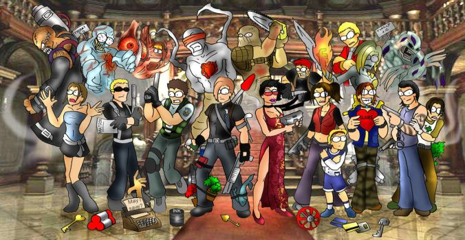 Resident Evil Rules by Thallin