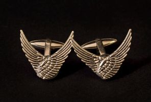 cufflinks - wings by Sizhiven