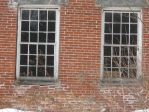 Old Abandoned Brick House Close Up 2 by TheGreatWiseAss