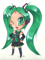 Miku by DroseAttack