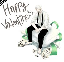 happy valentine's Ginko by HydroENKI