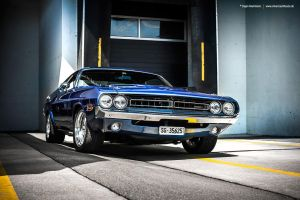 Blue Challenger by AmericanMuscle