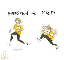 Expectation vs Reality by verauko