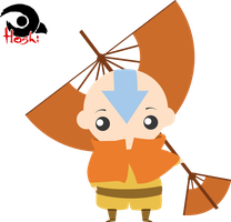 Aang by KarlaHoshi