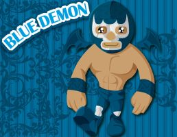 Blue Demon by Aiestesis
