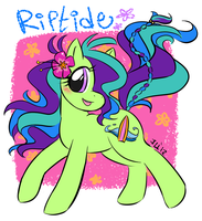 .MLP - Riptide. by PatchworkedHeart