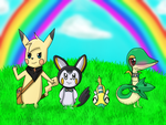 PMD: Gates to Infinity - Team PokeHeroes by piplupisnumber1